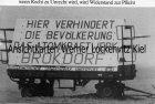 Ansichtskarte Brokdorf Elbe wenn Recht zu Unrecht wird... Antiatomkraft Polizei Demo