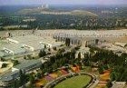 Ansichtskarte Berlin Ausstellungsgelände am Funkturm mit den neuen Messehallen