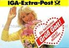 Ansichtskarte IGA-Extra-Post München 83 mit Sonderstempel
