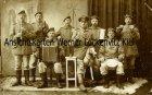 Ansichtskarte Husum Soldatengruppe Fotokarte Feldpost