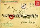 Brief Deutsche Dienstpost Osten aus Kohlia-Järwe Estland