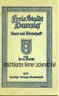 Freie Stadt Danzig Staat und Wirtschaft von Dr. H. Martin