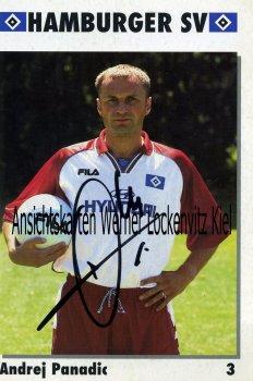 Andrej Panadic HSV Fußball Autogrammkarte