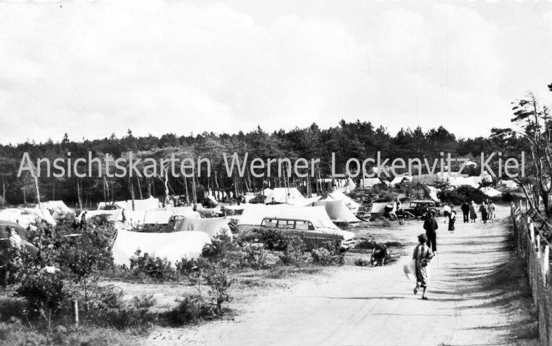 Ansichtskarte Cuxhaven-Sahlenburg Camping-Platz
