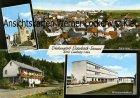 Ansichtskarte Selters-Eisenbach Ortsansicht Mittelpunktschule Waldpartie