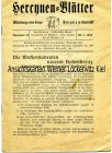 Herrenia zu Tharandt Mitteilungsblatt 11 Seiten Studentika 1934