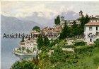 Ansichtskarte Italien Comer See Panorama Ortsansicht produziert von einem DDR-Verlag Phot. Willy Böhme