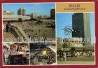 Ansichtskarte Berlin Alexanderplatz mit Orgelspielerin Orgel-Rieke