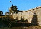 Ansichtskarte Berlin Brandenburger Tor und Mauer Grenze