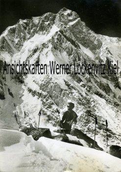Ansichtskarte Pakistan Nanga Parbat Toni Kinshofer-Gedächtnis-Expedition Bergsteiger