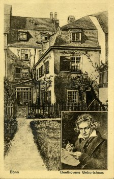 Ansichtskarte Bonn Beethovens Geburtshaus