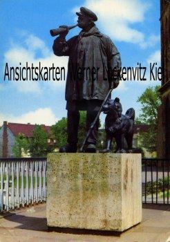 Ansichtskarte Bochum Der Kuhhirte Werbung für die Stadt