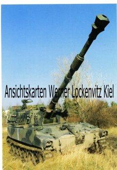 Ansichtskarte Panzerhaubitze 155 mm M 109 A5 Ö