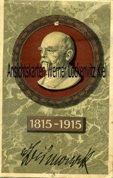 Ansichtskarte Fürst Bismarck Portrait