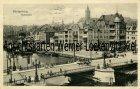 Ansichtskarte Königsberg Калинингра́д Kaliningrad Holzbrücke