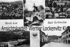 Ansichtskarte Bad Gottleuba-Berggießhübel Straßen Ortsansichten