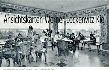 Ansichtskarte Eckernförde Tagesraum der Kinderfamilie im Traumhäuschen Brennofenweg