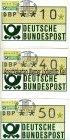 Automatenmarken BRD Maximumkarten 14 Werte Ersttag Ransbach-Baumbach
