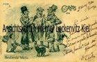 Ansichtskarte Heulende Wölfe Judaika Antijüdisch