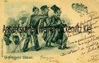 Ansichtskarte Gefangene Löwen Judaika Antijüdisch