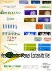 Briefmarken Irland 8 x FDC Europa Cept