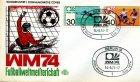 FDC Deutschland Fußballweltmeisterschaft 1974