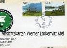 Briefmarken Irland Golf European Amateur Golf Team Championship Killarney 1975 FDC