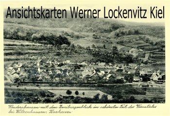 Ansichtskarte Wendershausen Witzenhausen Ortsansicht