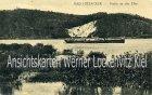 Ansichtskarte Hitzacker Partie an der Elbe mit Dampfer