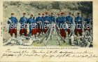 Ansichtskarte Carte Postale Frankreich CPA France Chasseurs au bivouac
