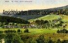 Ansichtskarte Neuhaus am Rennweg Scheibe-Alsbach Ortsansicht