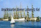 Ansichtskarte Kiel Windjammer an der Blücherbrücke