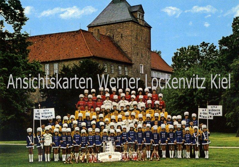 Ansichtskarte Winsen Luhe Majoretten Korps und Fanfarenzug HSV Stöckte