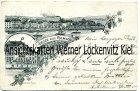 Ansichtskarte Luxemburg Remich Ortsansicht und Cafe Schreiner