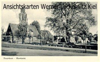 Ansichtskarte Bargteheide Marktplatz