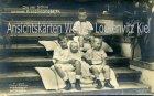 Ansichtskarte Die vier Söhne unseres Kronprinzenpaares Adel