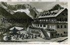 Ansichtskarte Grainau Kreuzeckhaus gegen Zugspitze