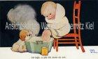 Ansichtskarte Ich hoffe, es geht Dir besser als mir von Mabel Lucie Attwell Künstlerkarte