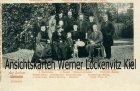 Ansichtskarte Auf Schloss Lensahn Adelige Familie mit Verwandschaft