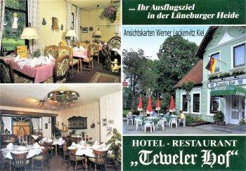 Ansichtskarte Neuenkirchen Hotel-Restaurant Teweler Hof Inh. Fam. W. Wentzel