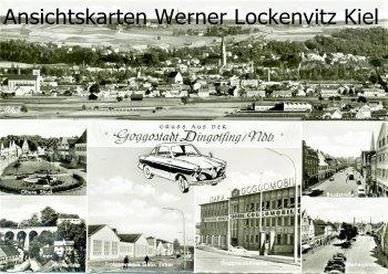 Ansichtskarte Dingolfing Goggomobilwerke Traktorenwerk Gebr. Eicher
