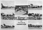 Ansichtskarte Flughafen der Messestadt Hannover Sonderstempel Luftfahrtschau