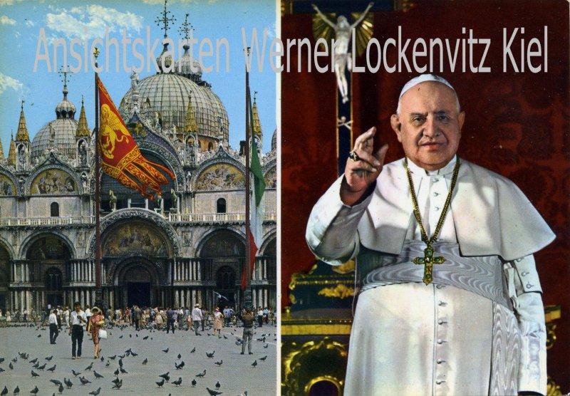 Ansichtskarte Cartolina Italia Vatikan Papst Johannes XXIII.