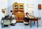 Ansichtskarte Kinderküche Puppenstube um 1900