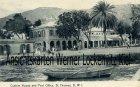 Ansichtskarte Dänisch-Westindien Dansk Vestindien Jungferninseln Virgin Islands St. Thomas Custom House and Post Office