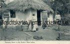 Ansichtskarte Dänisch-Westindien Dansk Vestindien Jungferninseln Virgin Islands Peasants Home