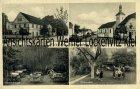 Ansichtskarten Polen Schlesien Pilz Kreis Frankenstein bei Kamieniec Ząbkowicki Kamenz Rösners Gasthaus Dorfpartie
