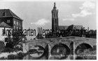 Ansichtskarte Niederlande Roermond Roer mit Stenen brug en Kathedraal Limburg