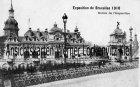 Ansichtskarte Belgien Exposition de Bruxelles 1910 Weltausstellung Entreeises