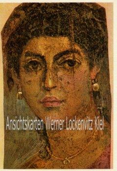 Ansichtskarte Ägyptisches Mumienbildnis